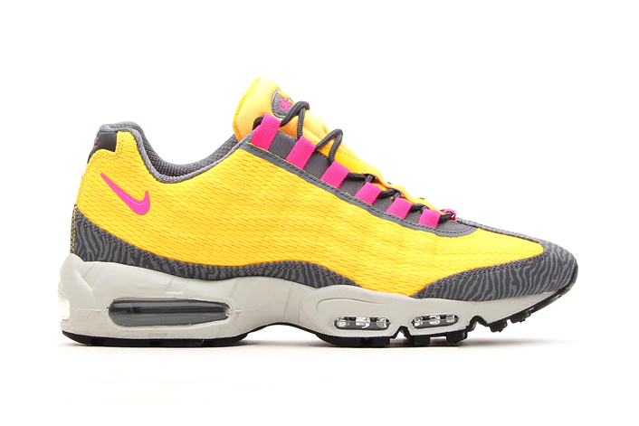 Image of Nike Air Max 95 PRM Tape Laser Orange/Pink Flash
