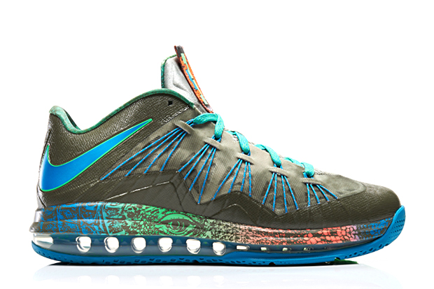 "Image of Nike Air Max LeBron X Low ""Swamp Thing"""