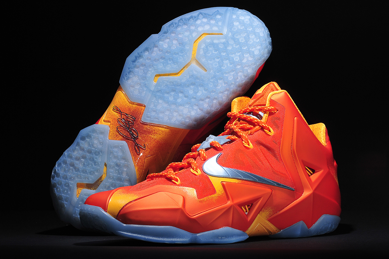 "Image of Nike LeBron 11 ""Forging Iron"""