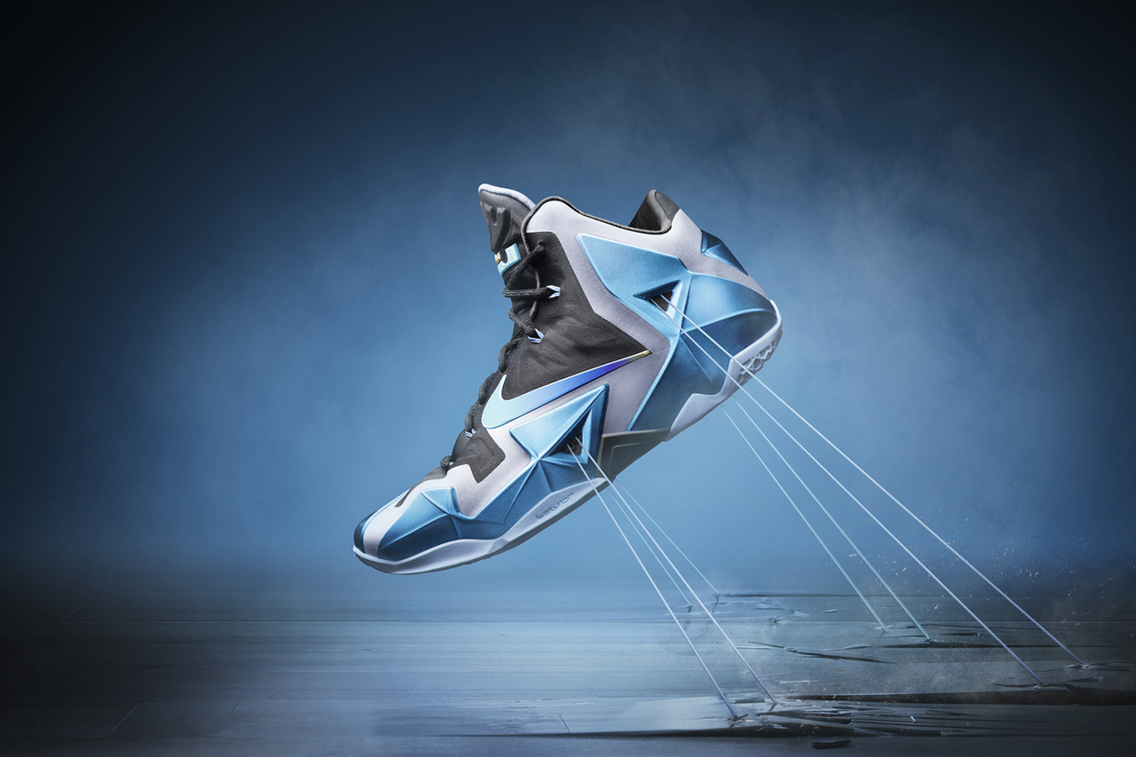 """Image of Nike LeBron 11 """"Gamma Blue"""""""