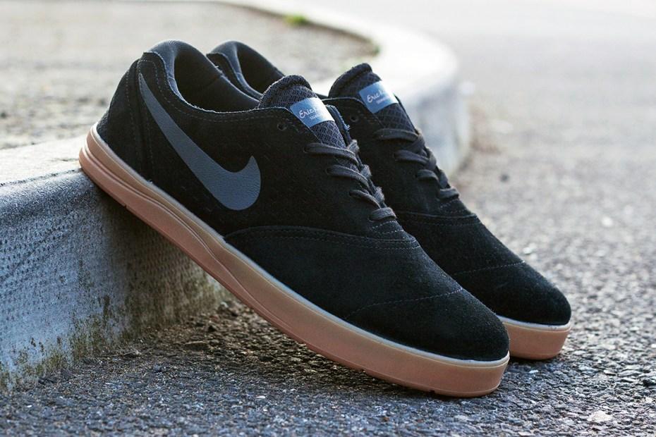 Image of Nike SB Koston 2 Black/Anthracite-Gum Medium Brown