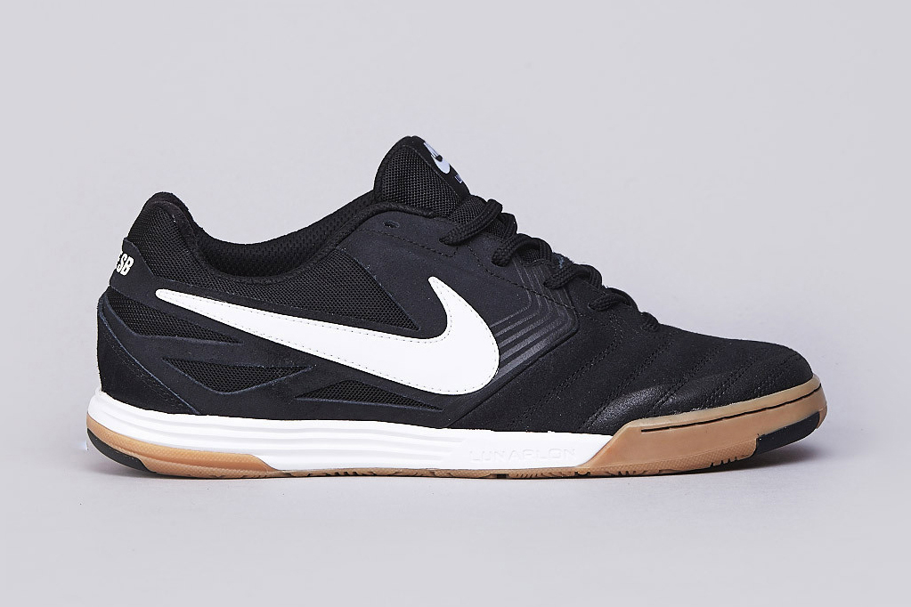 Image of Nike SB Lunar Gato Black/White-Gum Medium Brown