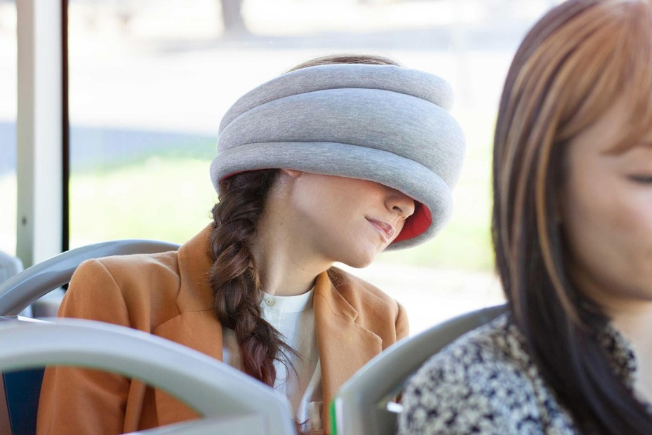 Image of Ostrich Pillow Light – Portable Power Napping Pillow For People On The Go