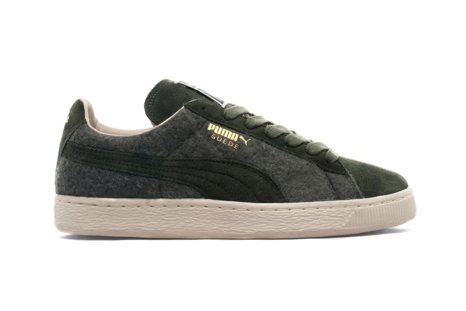 Image of PUMA 2013 Holiday Suede Wool Forest