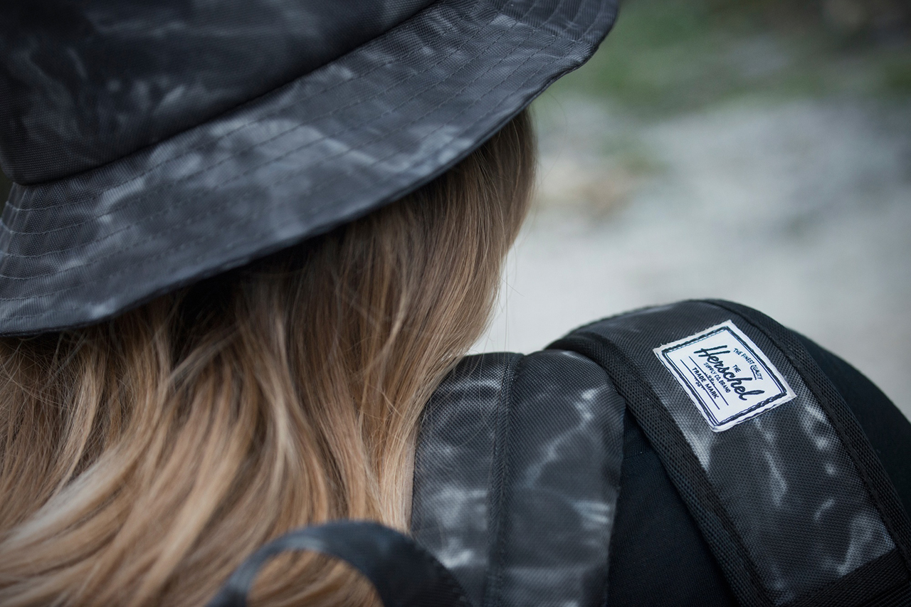 "Image of Raised by Wolves x Herschel Supply Co. 2013 Fall/Winter ""Black Water Camo"" Collection"