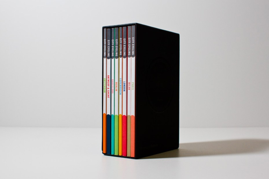 Image of Rapha Racing City Cycling Guides for Europe
