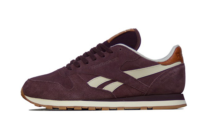 Image of Reebok Classic Leather Suede Henna/Paperwhite/RBK Brass