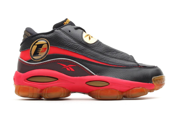 Image of Reebok Answer DMX 10 Black/Red/Gold