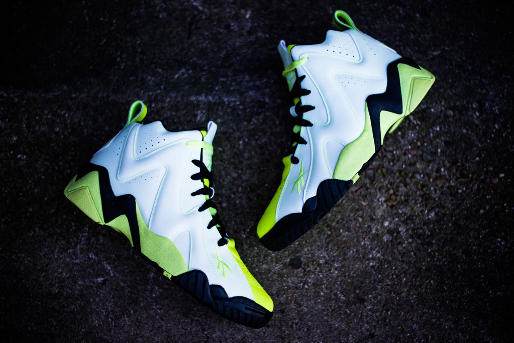 Image of Reebok Kamikaze II Mid - Glow In the Dark