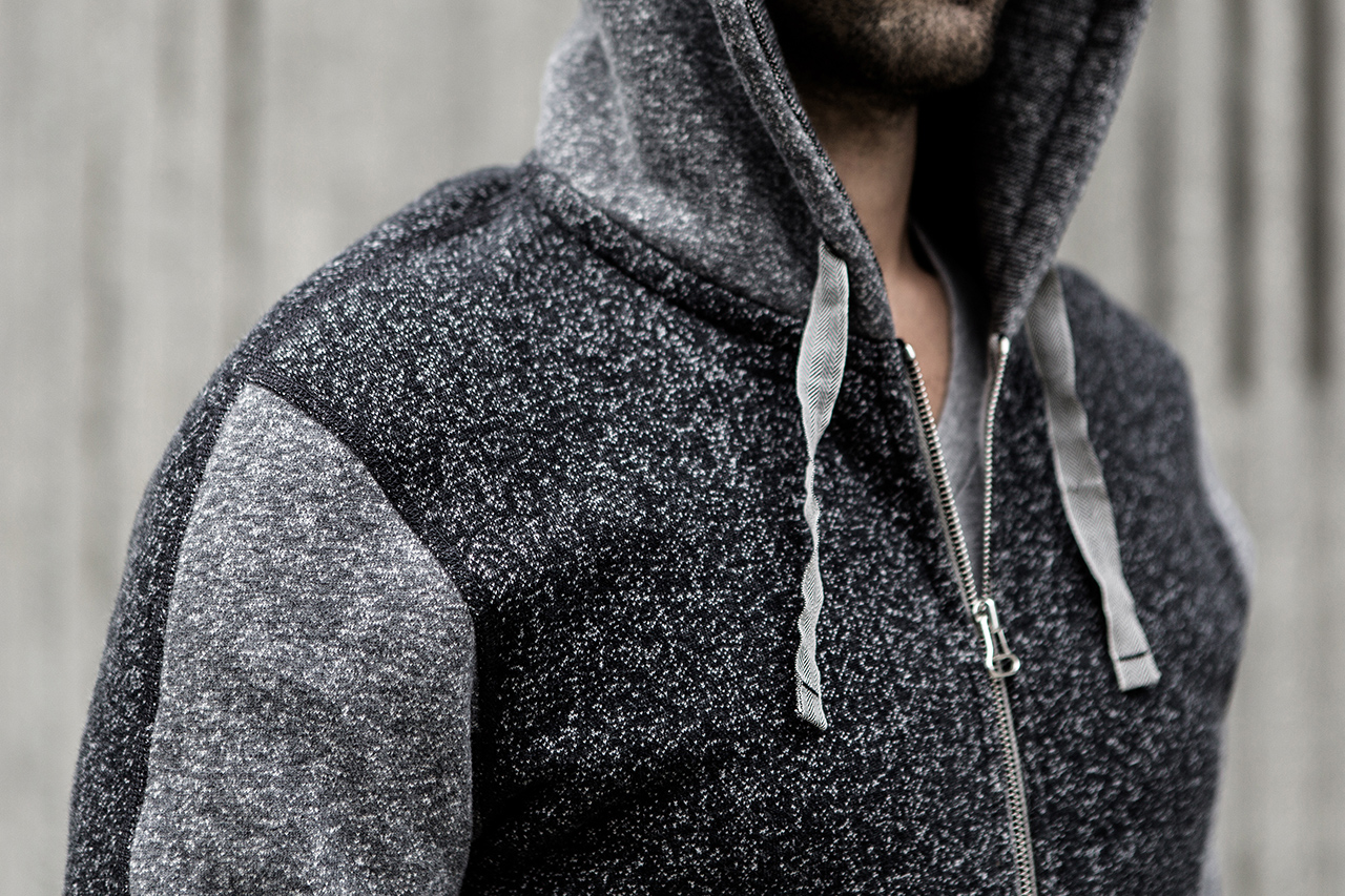 Image of Reigning Champ x wings + horns Special Edition Tiger Fleece Hoodie
