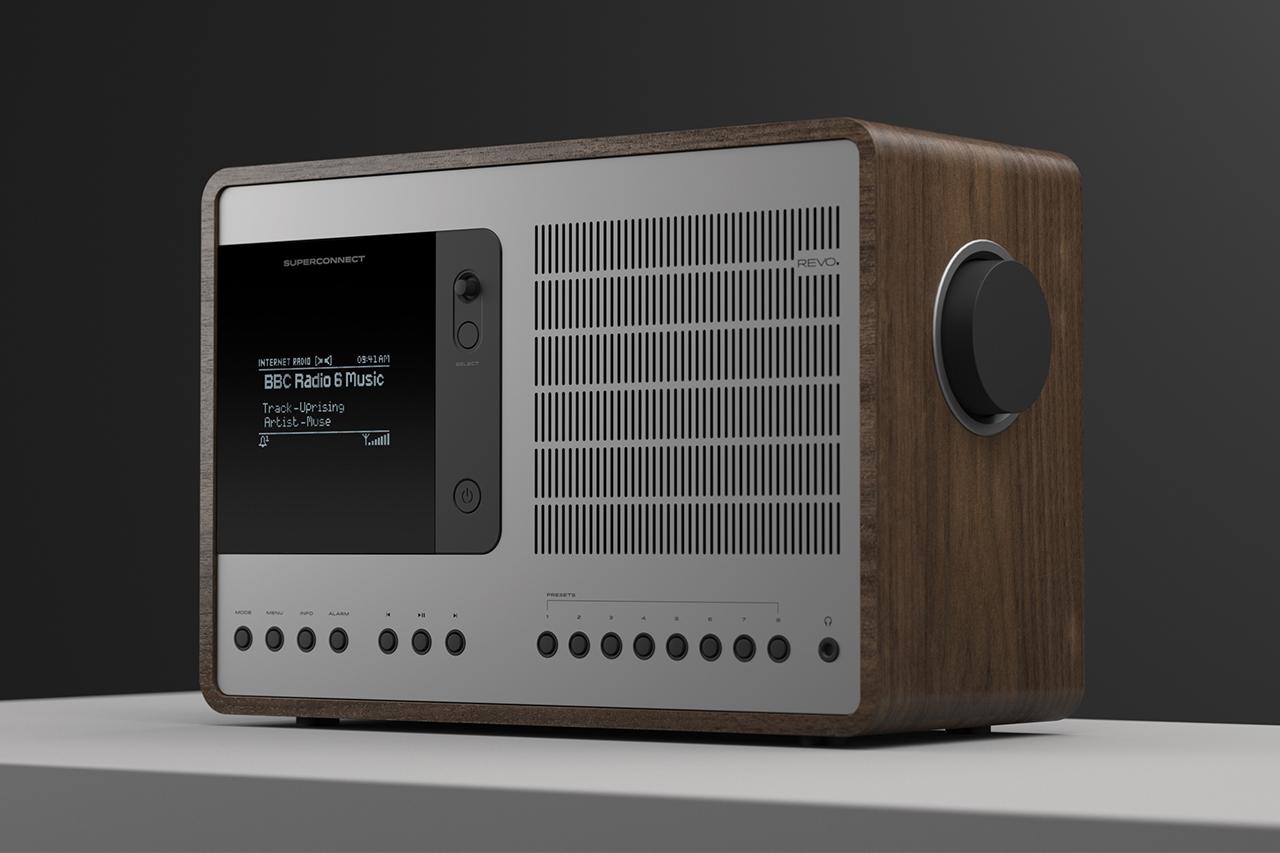 Image of REVO Technologies SUPERCONNECT Hybrid Radio