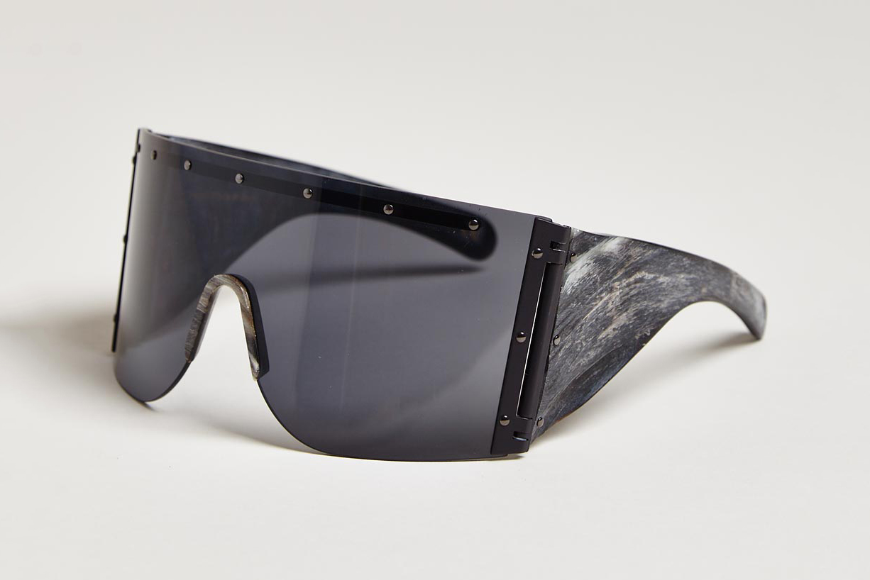 Image of Rick Owens 2013 Fall/Winter Raw Horn Arm Sunglasses