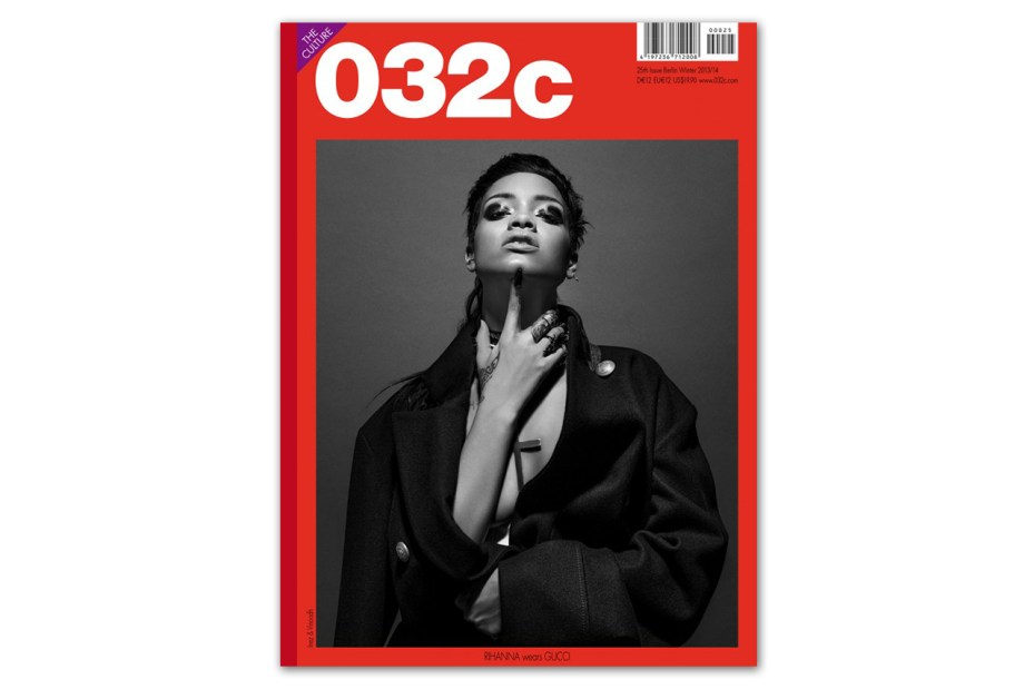 Image of Rihanna Covers 032c Magazine Issue 25 Winter 2013/2014