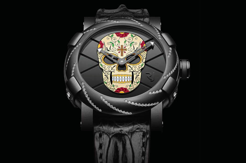 "Image of Romain Jerome ""Dia de los Muertos"" Collection"
