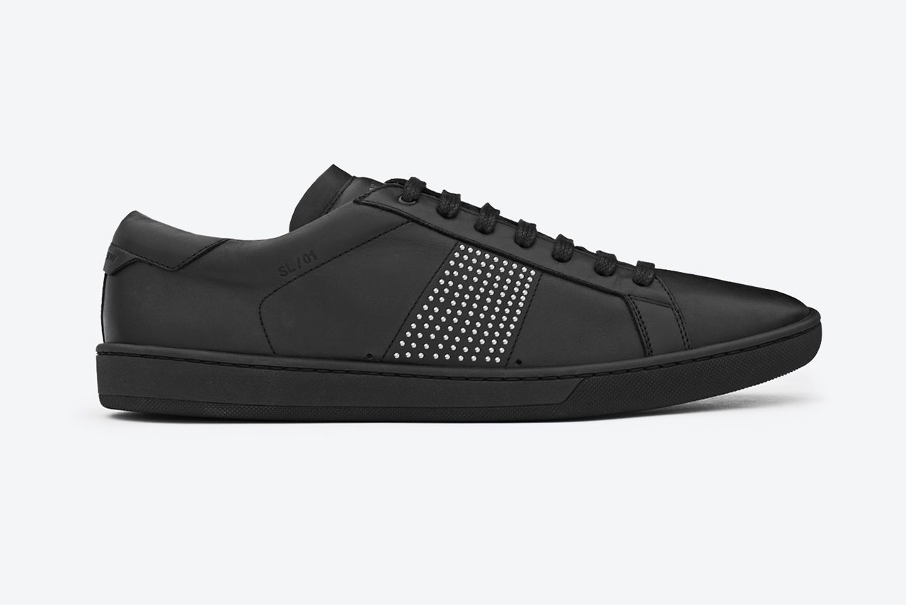 Image of Saint Laurent 2013 Fall/Winter SL/01 Court Classic Sneakers