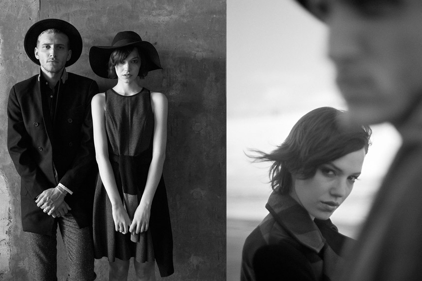 """Image of Shades of Grey 2013 Fall/Winter """"Grey Scale"""" Lookbook"""