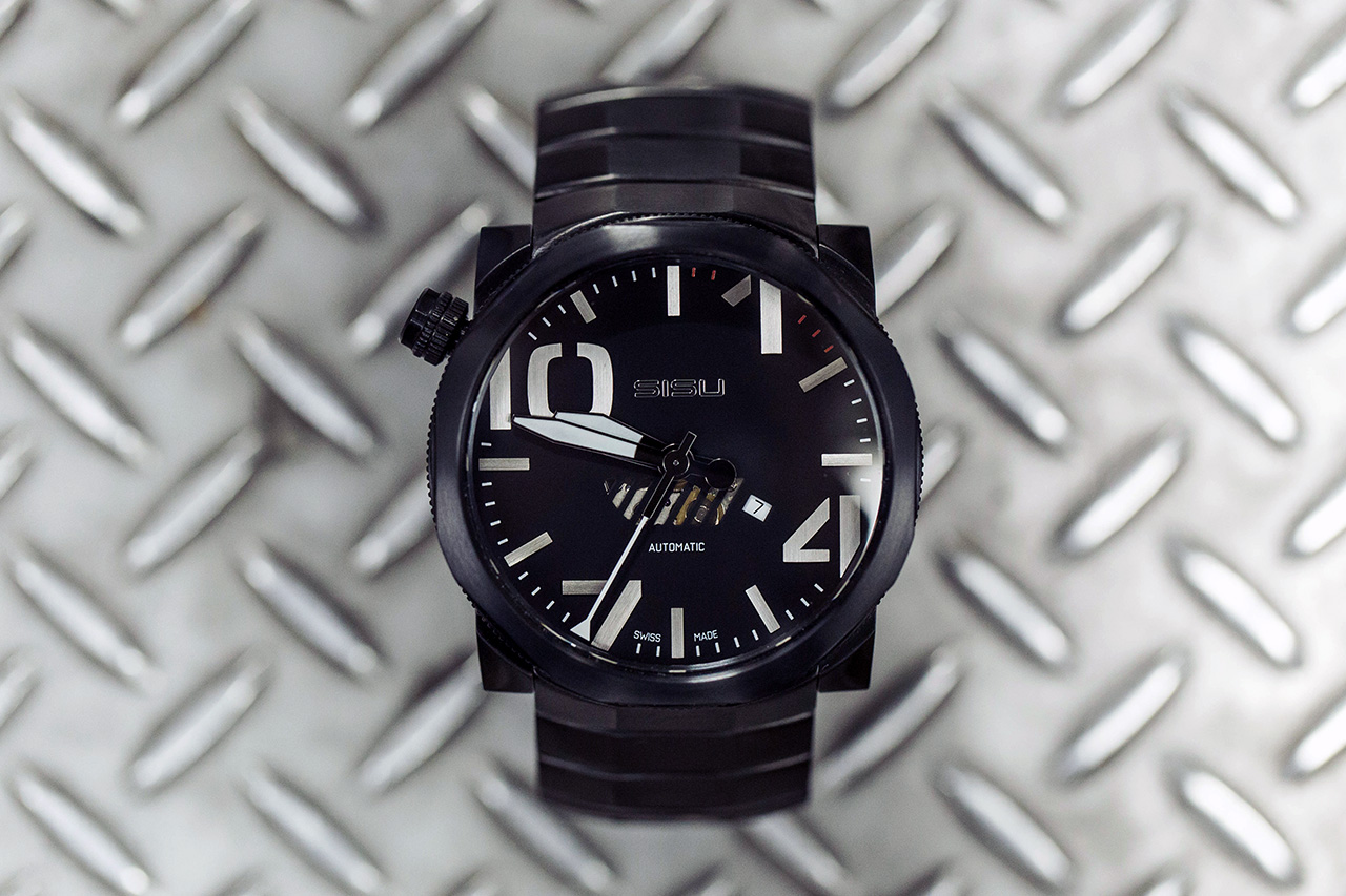 Image of SISU Bravado A5 Stealth Swiss Automatic Limited Edition Watch