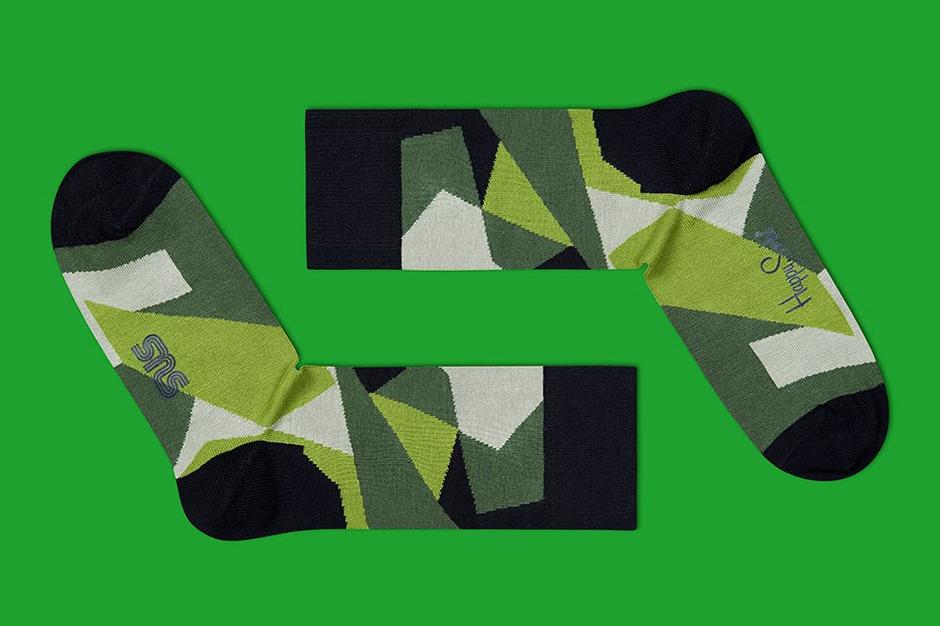 Image of Sneakersnstuff x Happy Socks M90 Camo Socks