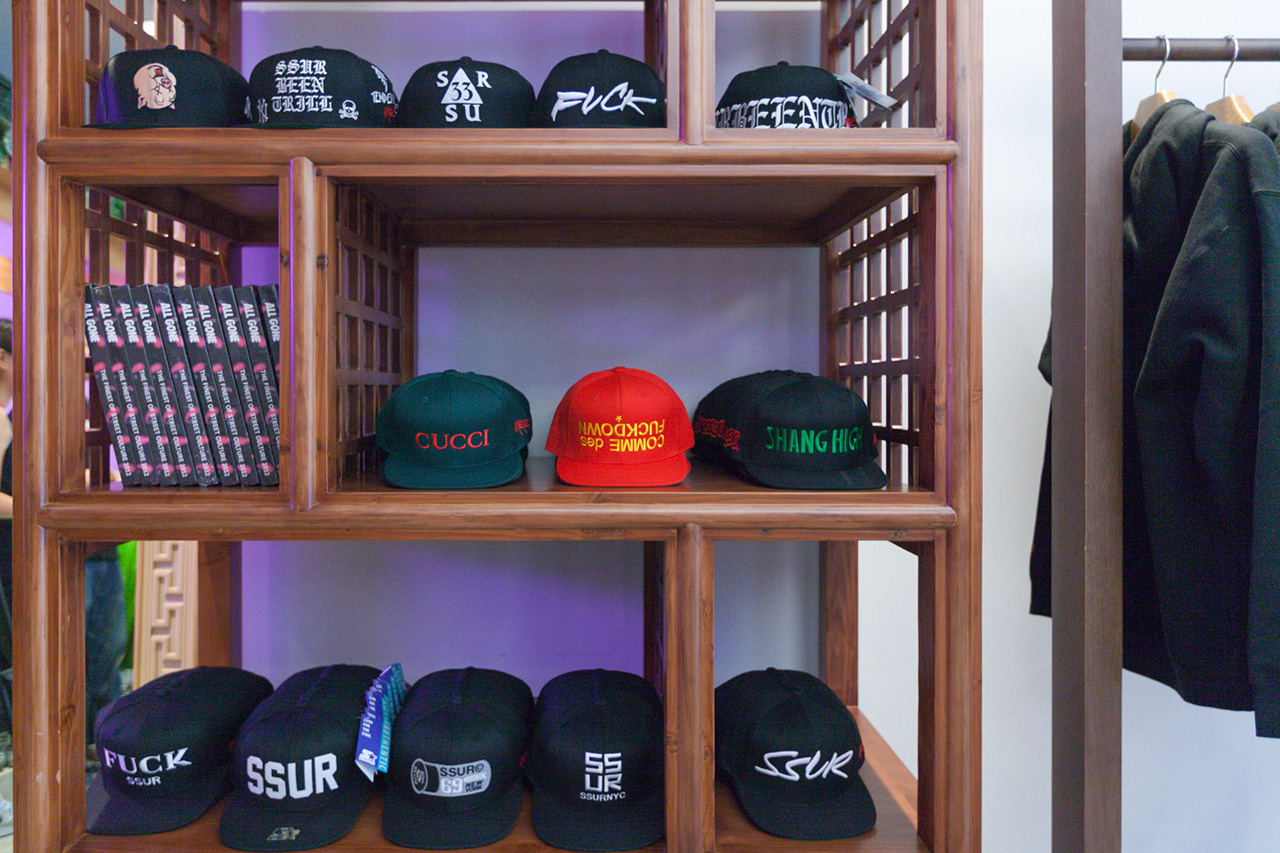 Image of SSUR and CLOT Present GUTTER STORE Shanghai