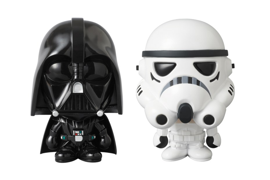 Image of Star Wars x A Bathing Ape x Medicom Toy STORMTROOPER & DARTH VADER