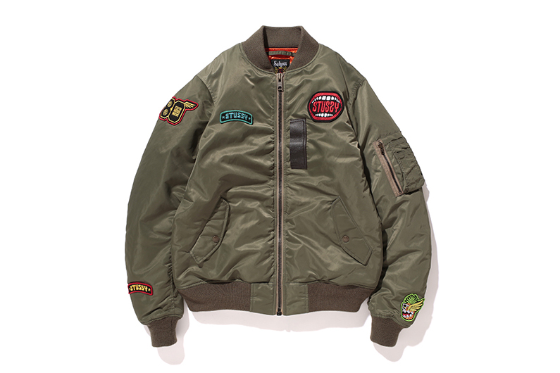 Image of Stussy x Schott 2013 Fall/Winter Aviator Jacket