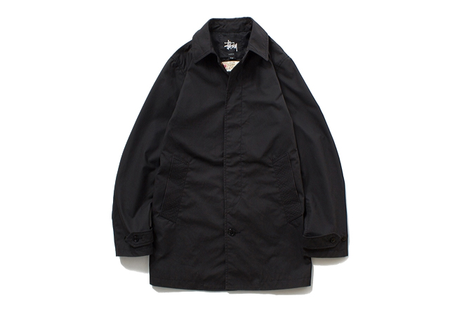 Image of Stussy x The British Millerain Co. 2013 Fall/Winter Waxed Soutien Coller Coat