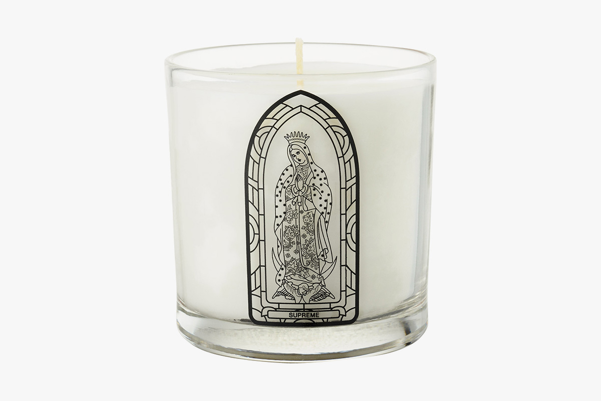 "Image of Supreme x Kumba ""Virgin Mary"" Candle"