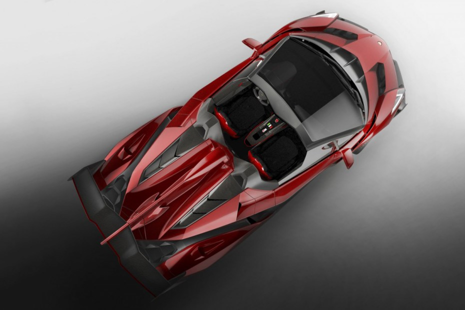 Image of The First Look at the Lamborghini Veneno Roadster