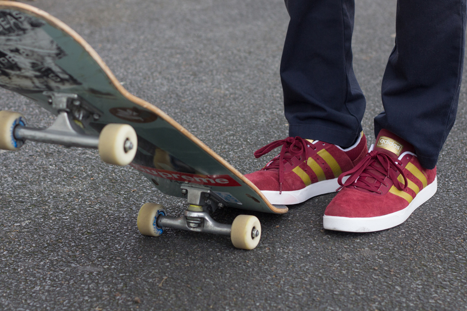 Image of The Review: adidas Skateboarding Busenitz ADV