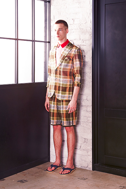 Image of undecorated MAN 2014 Spring/Summer Lookbook