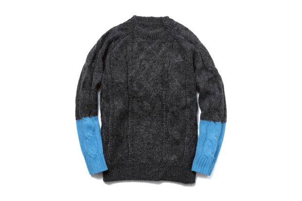 Image of uniform experiment 2013 Fall/Winter Fisherman Crew Neck Knit