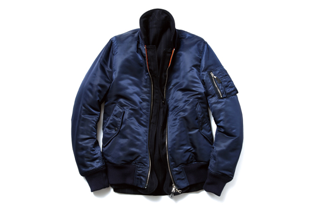 Image of uniform experiment Reversible MA-1 Blouson
