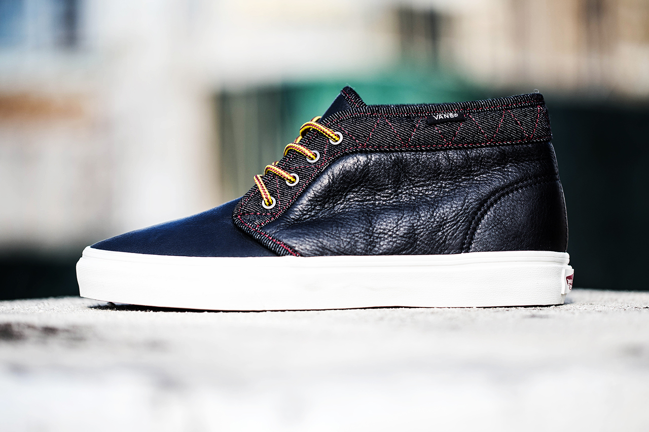 "Image of Vans California 2013 Holiday Chukka Boot CA ""Leather & Denim"" Pack"