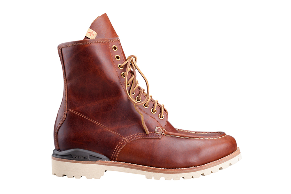 Image of visvim 2013 Fall/Winter HOLTOM MOC TOE BOOT-FOLK *F.I.L. EXCLUSIVE