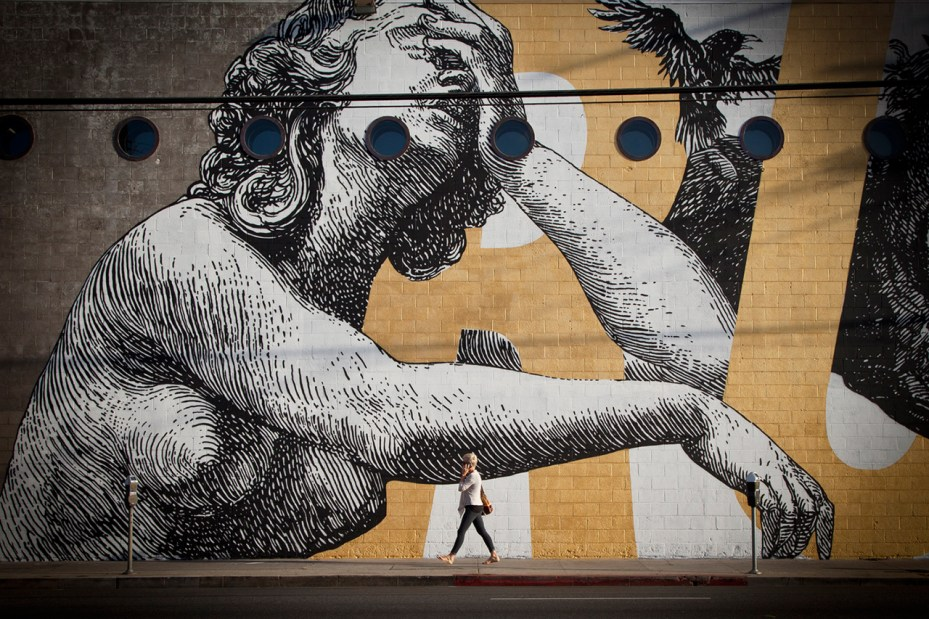 Image of Woodkid and CYRCLE. Collaborate On Los Angeles Mural