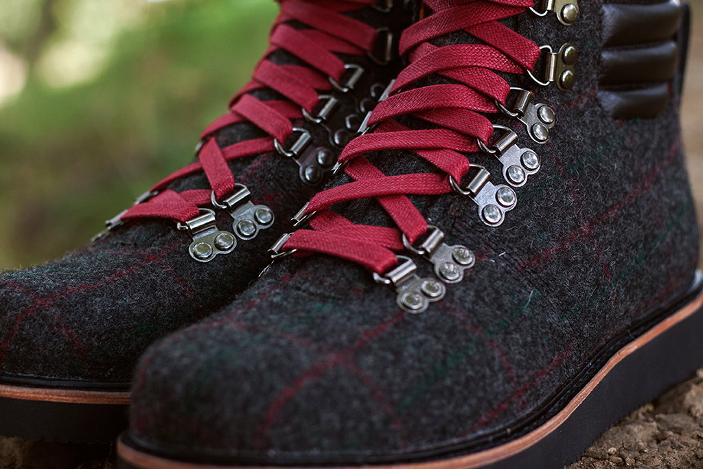 Image of Woolrich x Timberland 2013 Fall Abington Hiker Boot