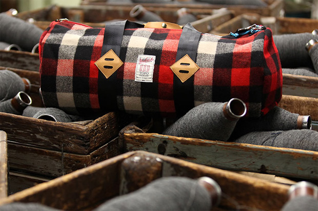 Image of Woolrich Woolen Mills x Topo Designs Bag Collection