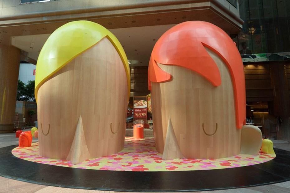 "Image of Yoskay Yamamoto ""Submerged"" Exhibition @ Times Square Hong Kong"