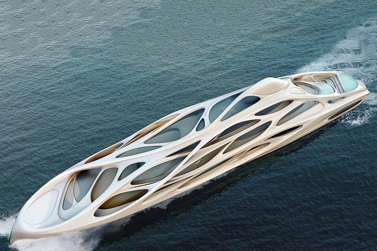 Image of Zaha Hadid Superyachts for Blohm + Voss