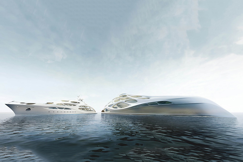 Image of Zaha Hadid Superyachts for Blohm + Voss