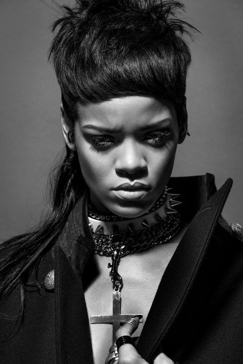 Image of Rihanna features in '032c' Issue #25 Winter 2013/2014