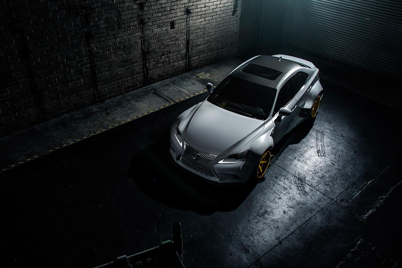 Image of  2014 Lexus IS 350 F Sport DeviantArt Edition