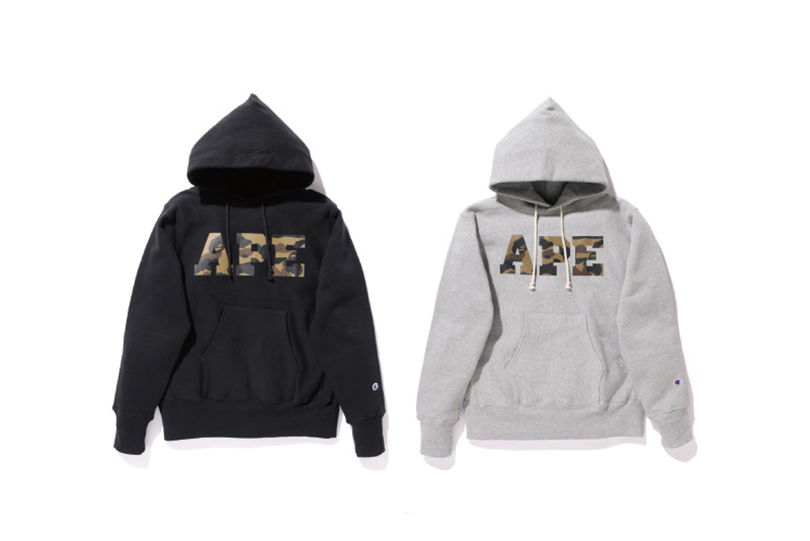 "Image of A Bathing Ape 2013 Fall/Winter ""BAPE® CHAMPION"" Collection"