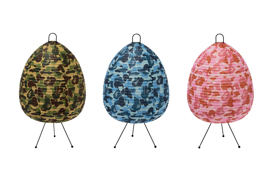 Image of A Bathing Ape x case study shop ABC CAMO LAMP