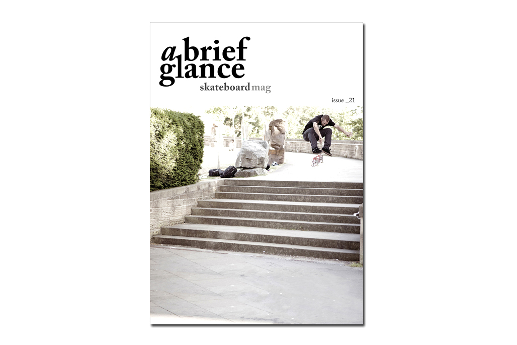 Image of a brief glance Skateboard Magazine Issue 21
