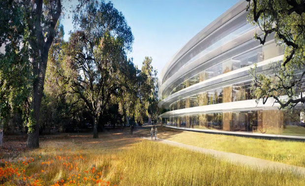 """Image of A Closer Look at Apple's Forthcoming """"Spaceship"""" Campus 2"""