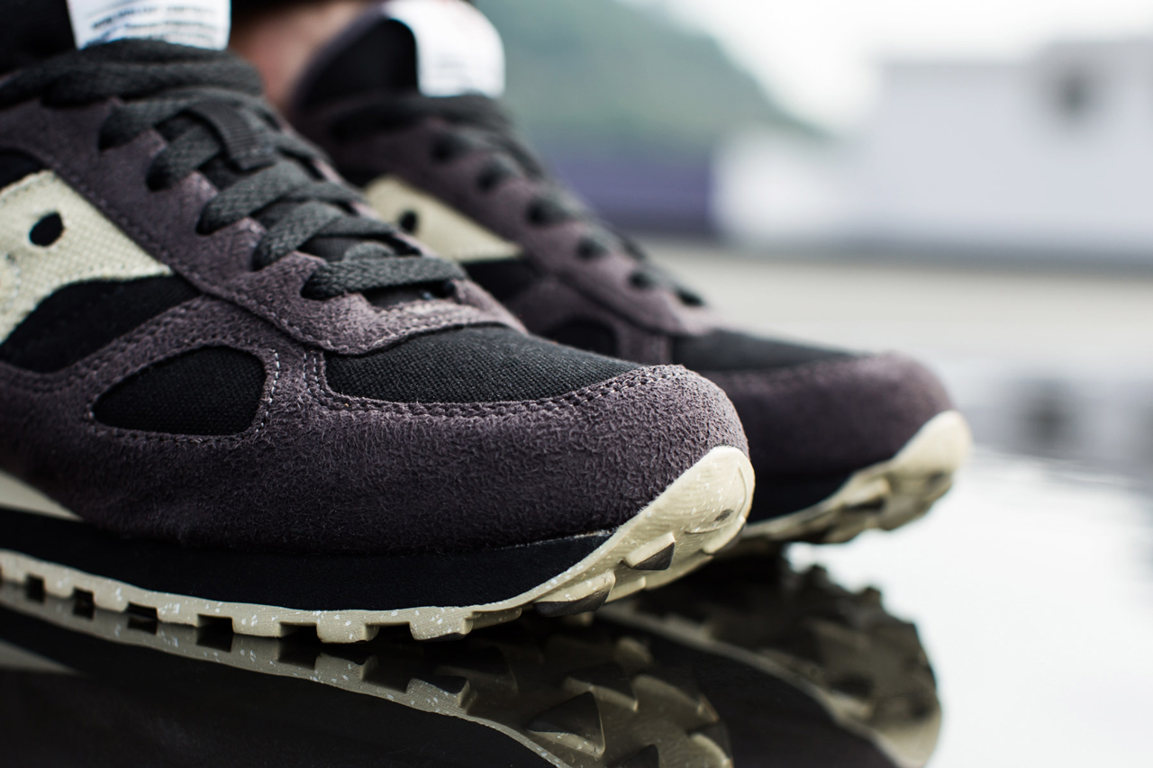 "Image of A Closer Look at the BAIT x Saucony Shadow Original ""Cruel World"""