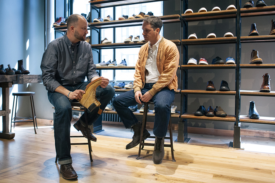 Image of A Conversation With Matt Singer and Timberland's Creative Director Chris Pawlus