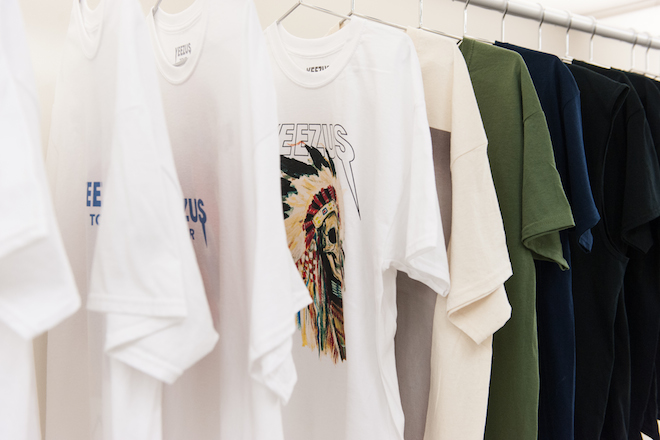 Image of A Look Inside Kanye West's New York City Yeezus Pop-Up Shop
