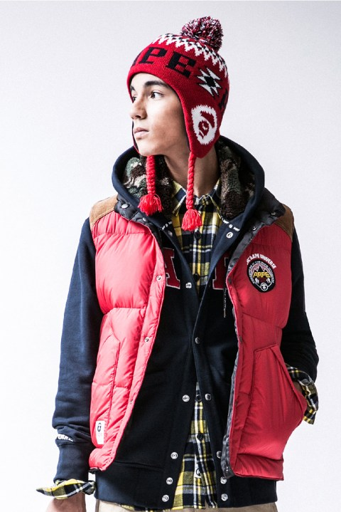Image of AAPE by A Bathing Ape 2013 Winter Lookbook
